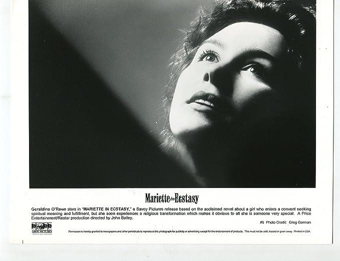 Movie Photo Mariette In Ecstasy Geraldine Orawe 8x10 Bw Still Vg