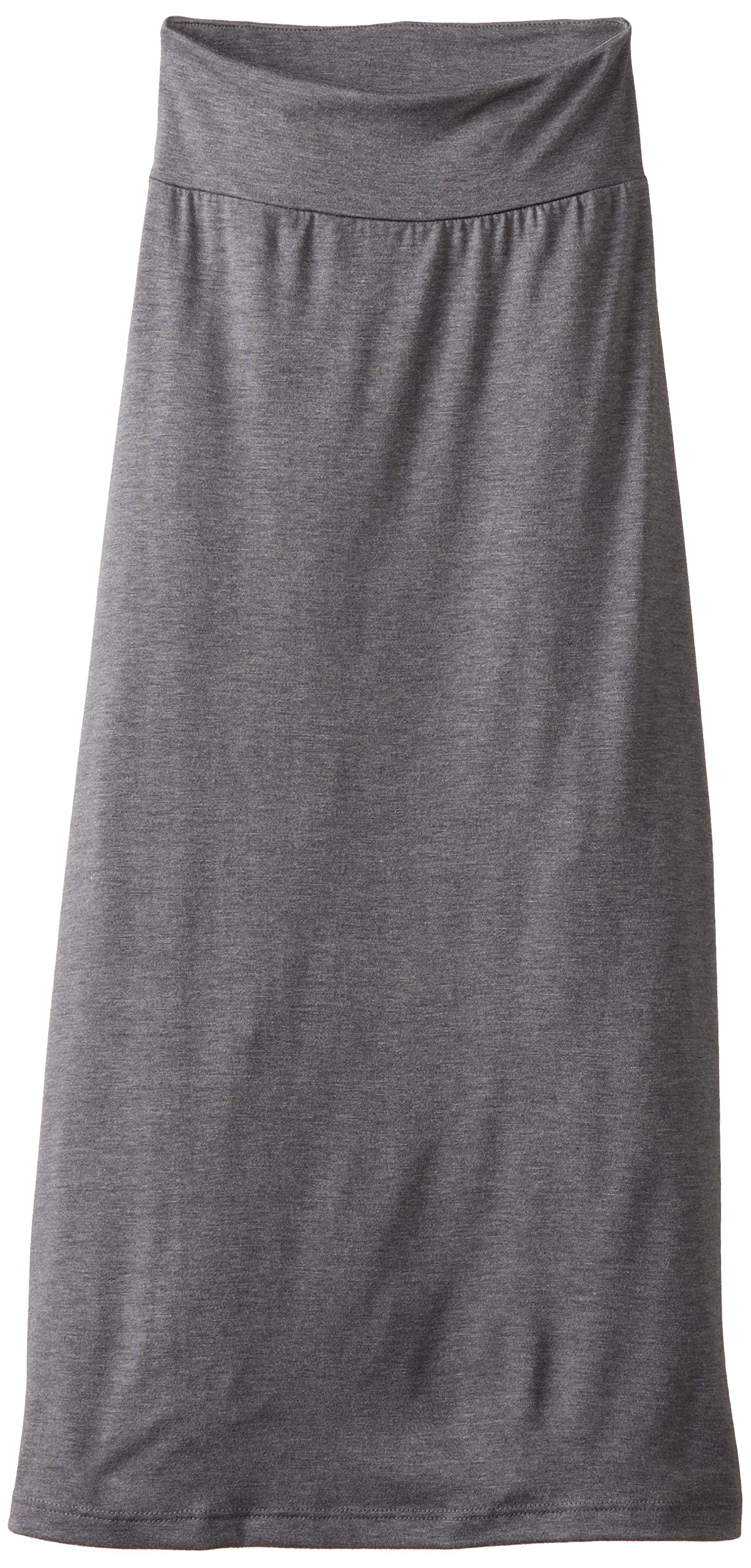 Amy Byer Girls' 7-16 Full-Length Maxi Skirt, Gray, Large by Amy Byer (Image #1)