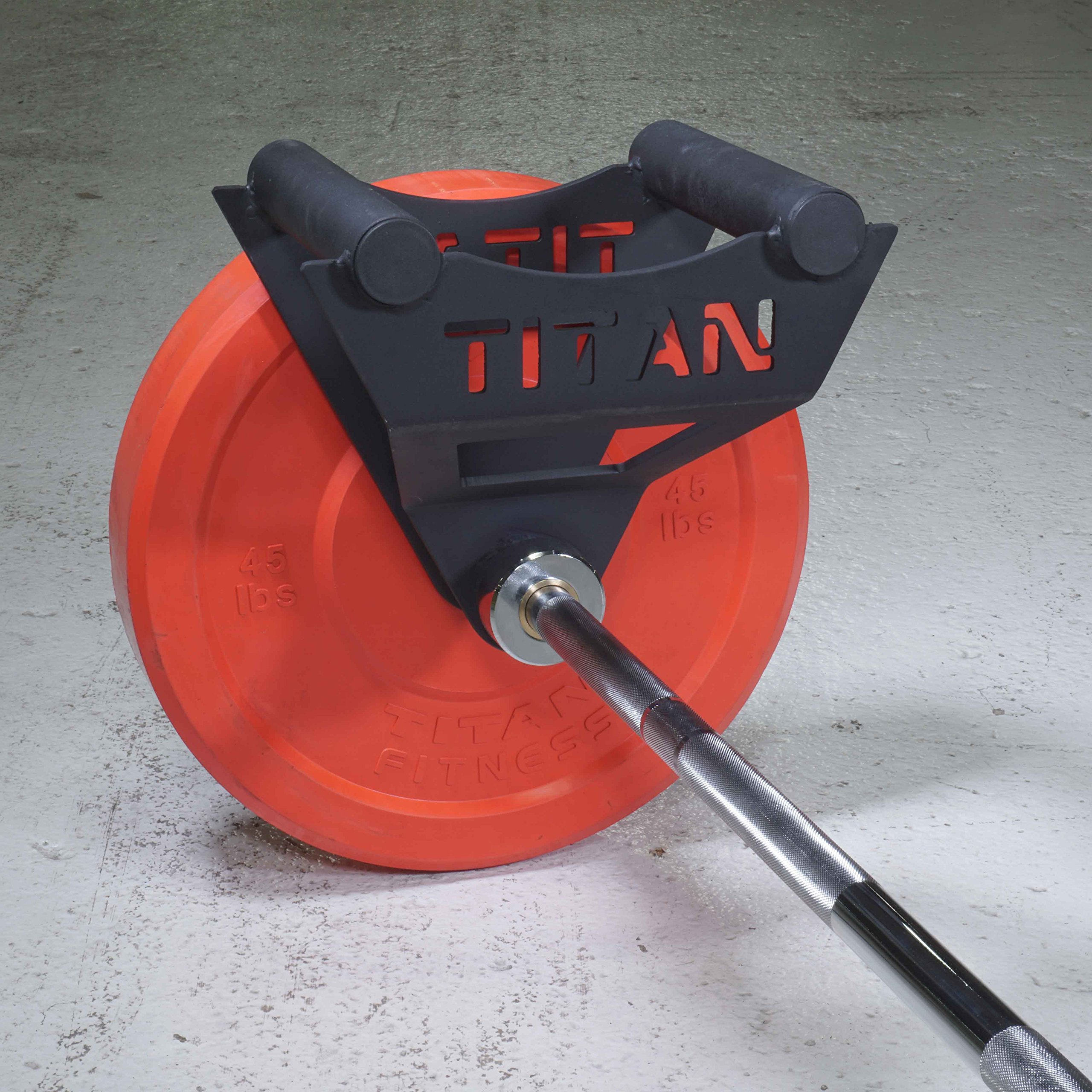 Titan Parallel Handle for Landmine 1.9'' Diameter