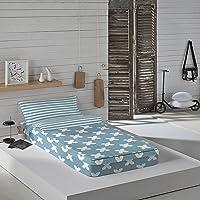 Munich Evo Blue - Saco nórdico para cama
