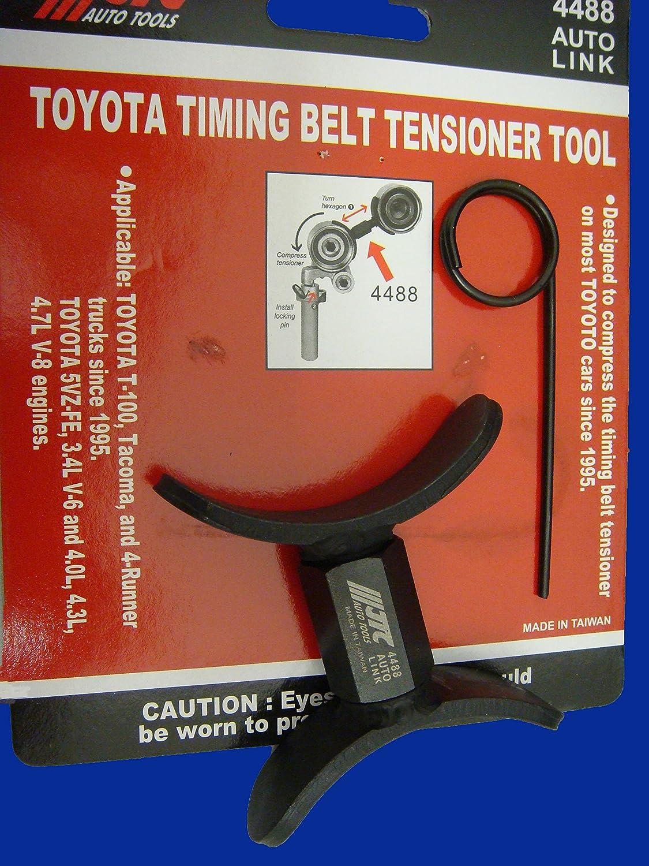 Amazon.com: Toyota tensor para correa de distribución ...