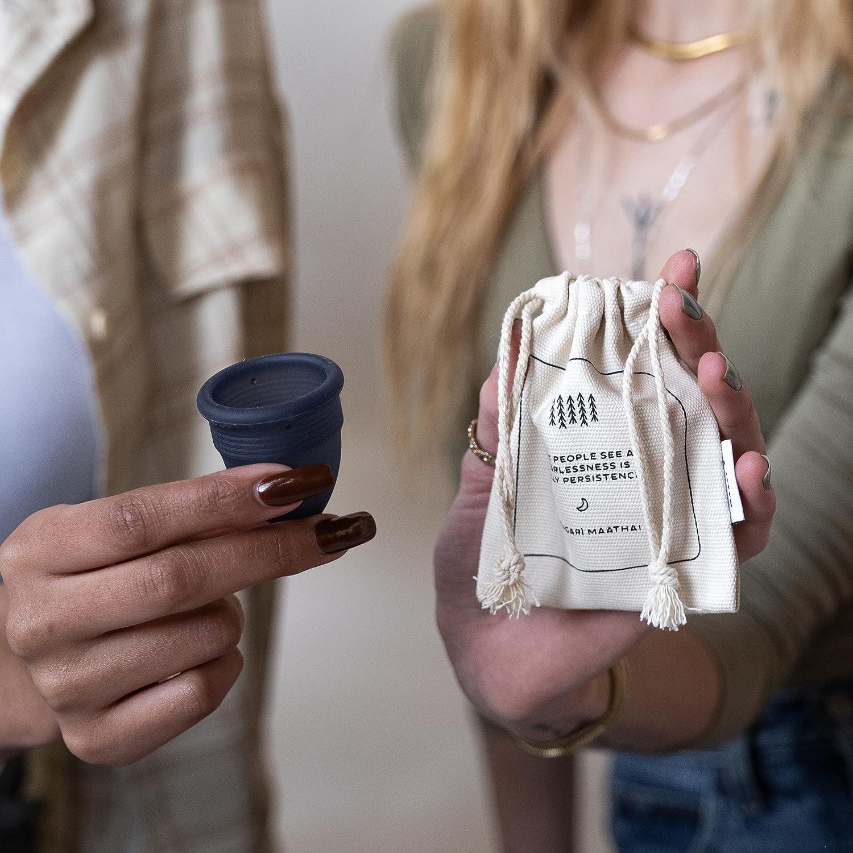 Pixie Nº 1 para más cómodo copa menstrual cada taza Comprado uno se le da a una mujer necesitada Pequeño