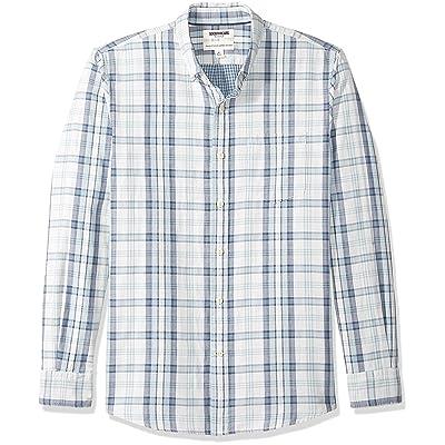 Brand - Goodthreads Men's Long-Sleeve Doubleface Shirt: Clothing