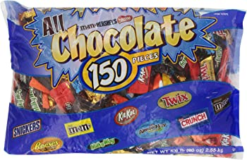 Hershey's 150 Pcs All Chocolate Pieces 90 Ounce Bag