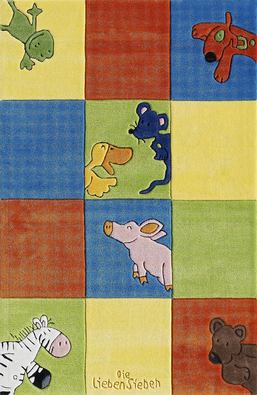Die Lieben Sieben Kinderteppich LS-2197-01 150x220cm