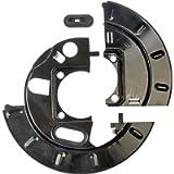 Dorman 924-213 Rear Brake Dust Shield for Select Cadillac / Chevrolet / GMC Models (OE FIX) , Black
