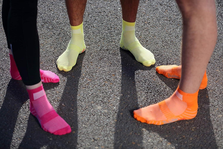 Hombre Mujer Calcetines Deporte Colores de Algod/ón Rainbow Socks