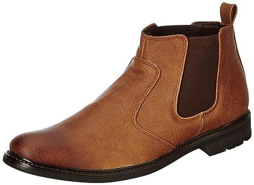 8204ce7913 Amazon Brand - Symbol Men's Casual Chelsea boots