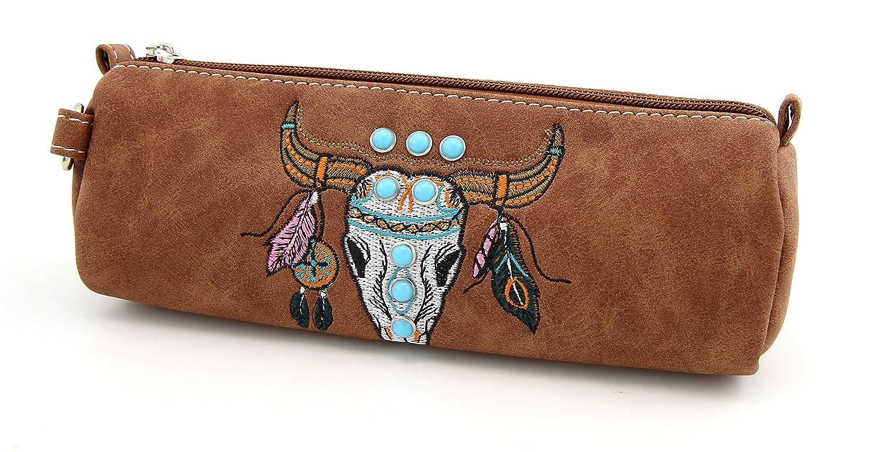 d76559a71c53 Amazon.com: Pencil Bag Y.C. Pencil Case Vintage Style Makeup Bag ...