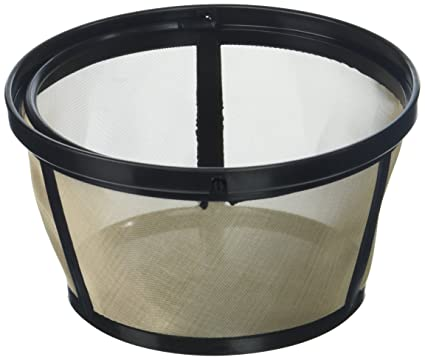 Amazoncom Permanent Basket Style Gold Tone Coffee Filter Designed