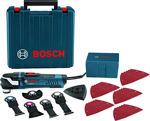 Bosch Power Tools Oscillating Saw – GOP40-30C StarlockPlus 4.0 Amp Oscillating MultiTool Kit Oscillating Tool Kit Has No-touch Blade-Change System