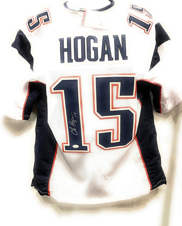 Chris Hogan New England Patriots Signed Autograph White Custom ...