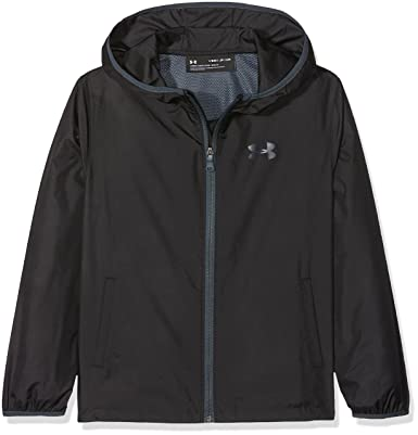Under Armour Sack Pack Jacket Chaqueta, Niños, Negro (001), L