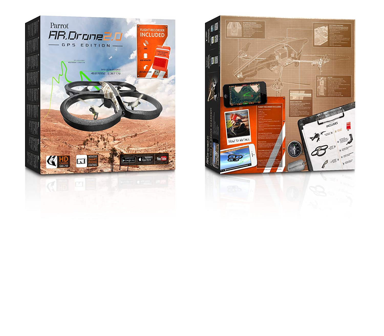 Amazon com: Parrot AR Drone 2 0 GPS Edition Quadricopter - Record HD