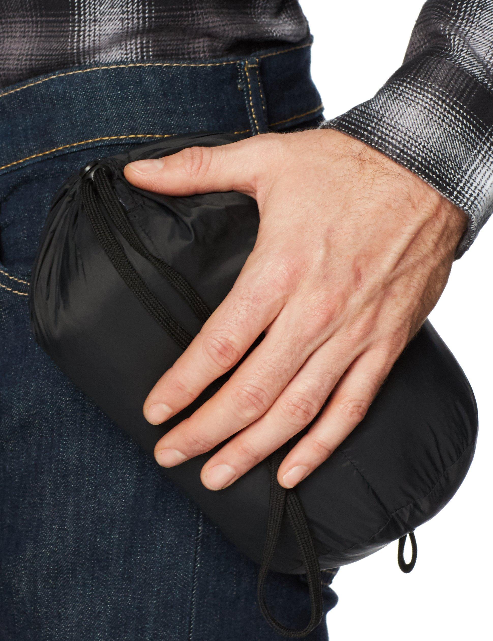 Amazon Essentials Men's Lightweight Water-Resistant Packable Down Jacket, Black, Large by Amazon Essentials (Image #5)
