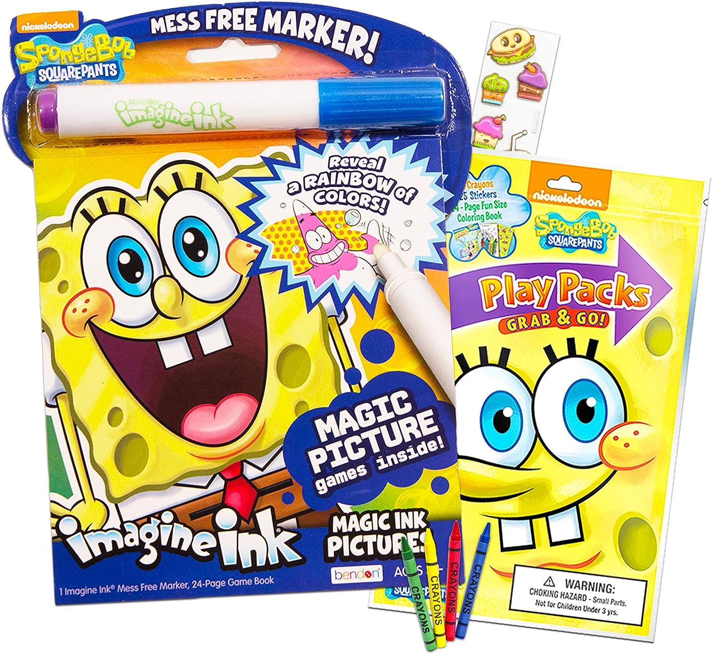 Spongebob Squarepants Coloring Book Set 2 Coloring Books