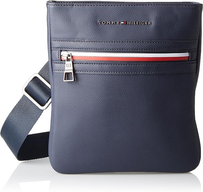 Monaco Raramente Rustico  Tommy Hilfiger Essential, Borsa Uomo, Blu (Tommy Navy), 3x26x24 cm (W x H x  L): Amazon.it: Scarpe e borse