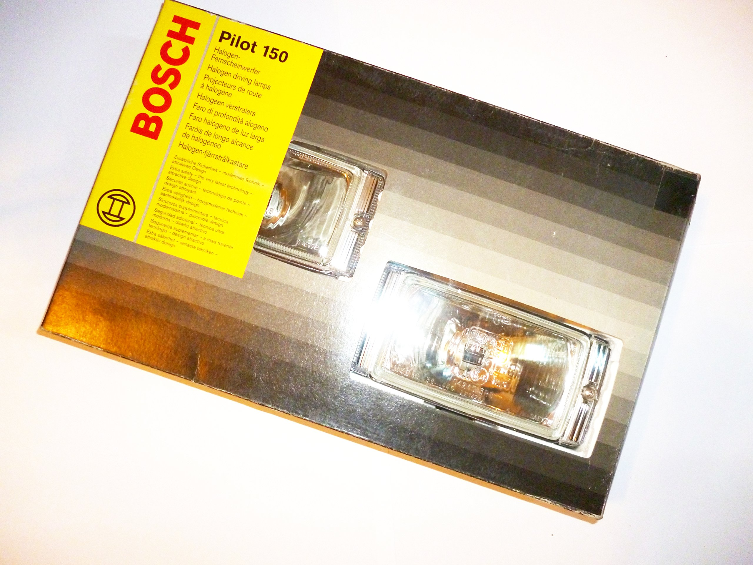 Pilot 150 Series Clear Lens Driving Light Full Kit With Wiring Relay Mounting Accessories 03060407901
