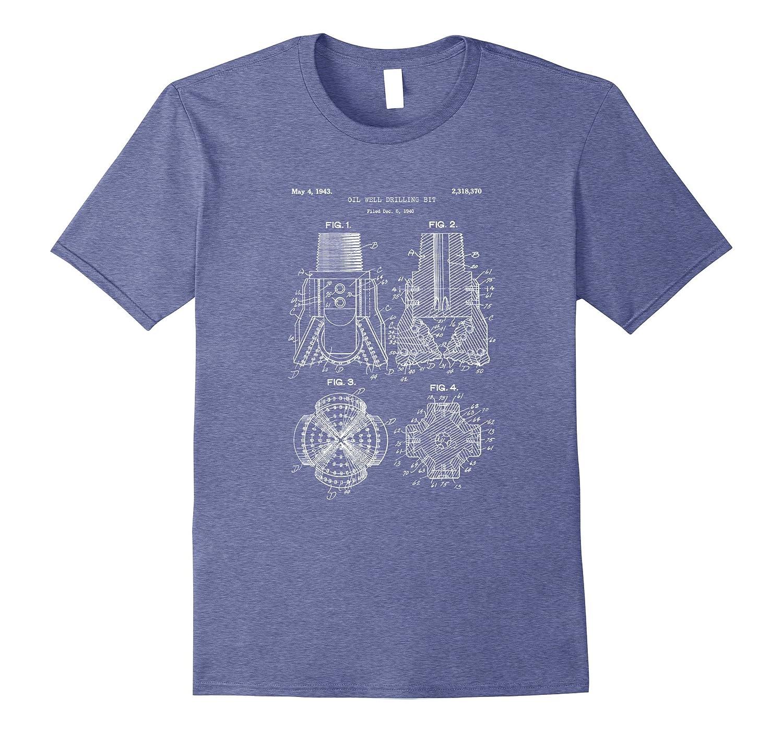 Drill bit blueprint shirt petroleum engineer oilfield tee ah my drill bit blueprint shirt petroleum engineer oilfield tee ah my shirt one gift malvernweather Gallery