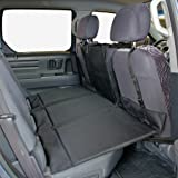 Bushwhacker® - Paws n Claws Backseat Pet Bridge - Ideal for Trucks, SUVs, and Full Sized Sedans Dog Car Seat Extender Platform Cover Barrier Divider Restraint