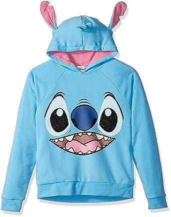 2346e96ec8c4 Amazon.com: Disney Girls' Stitch Costume Hoodie: Clothing