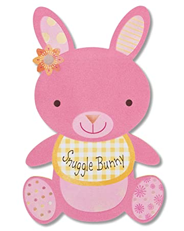 American Greetings Snuggle Bunny New Baby Girl