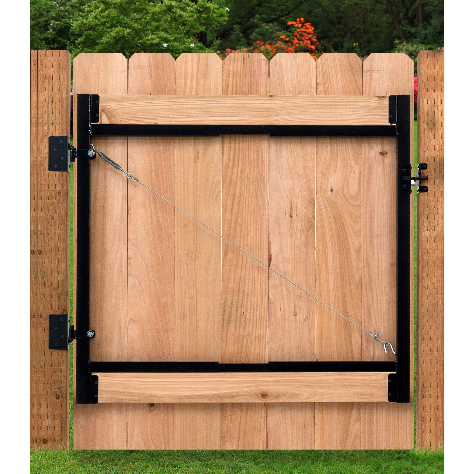 Adjust-A-Gate Steel Frame Gate Building Kit, 60''-96'' Wide Opening Up to 4' High (2 Pack) by Adjust-A-Gate (Image #4)