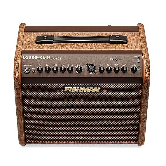 Amplificador para guitarra acustica Fishman Loudbox Mini Charge: Amazon.es: Instrumentos musicales