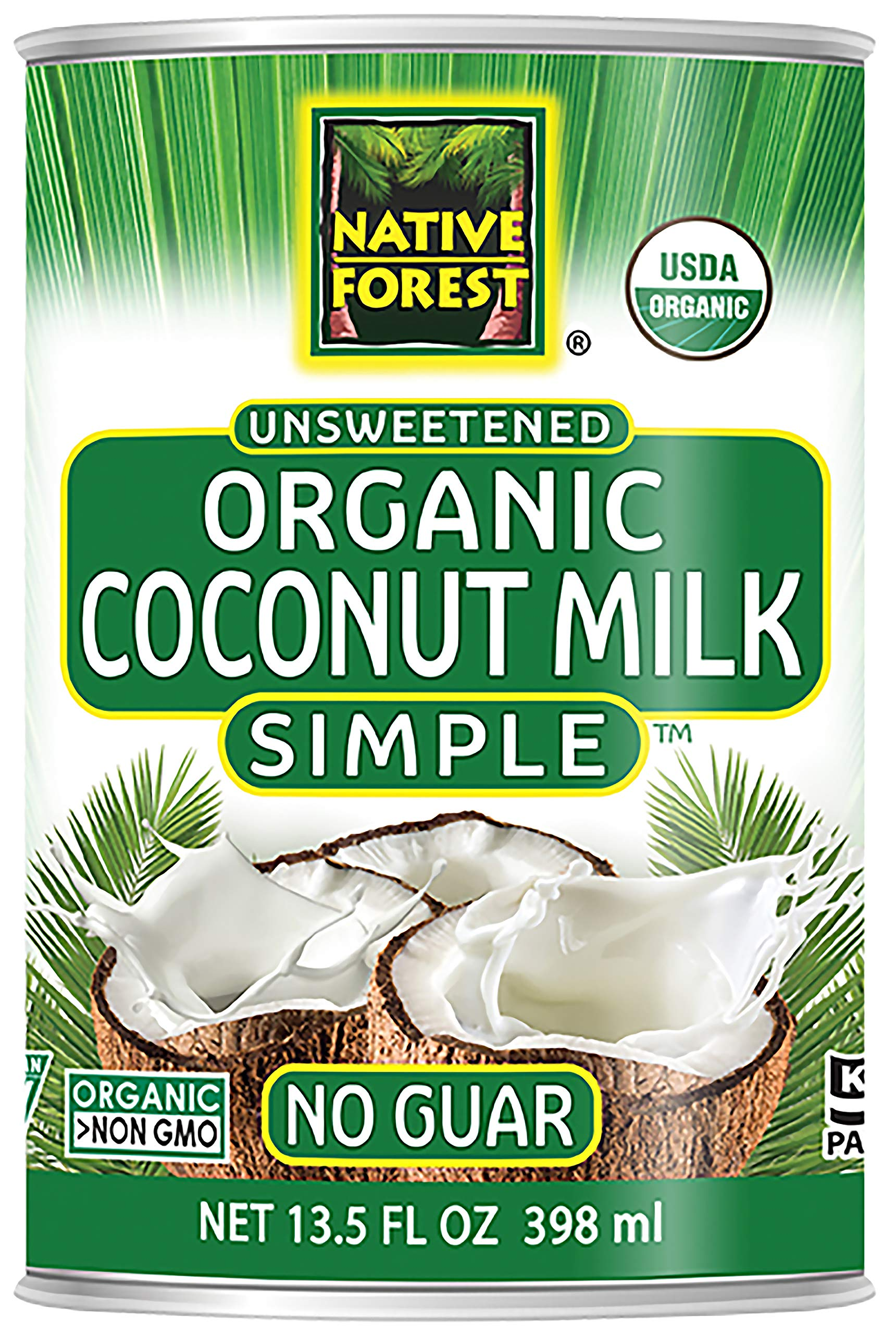 Native Forest Simple Organic Unsweetened Coconut Milk, 13.5 Ounce Cans (Pack of 12) by Edward & Sons