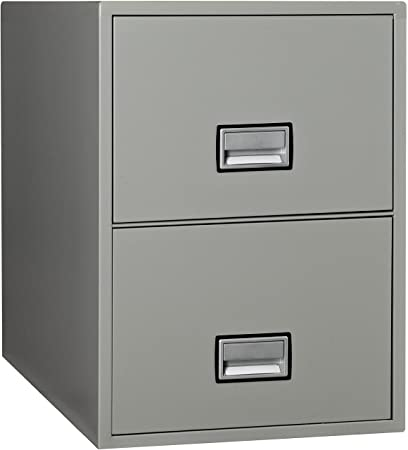 Amazoncom Phoenix Vertical 31 Inch 2 Drawer Legal Fireproof File