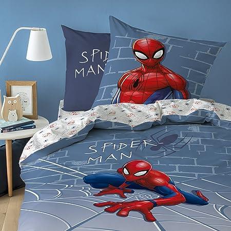 Copripiumino Spiderman.Hasbro Spiderman Marvel Incredible Biancheria Da Letto