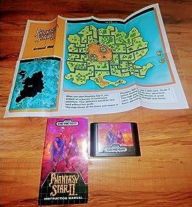 Phantasy Star II - Sega Genesis