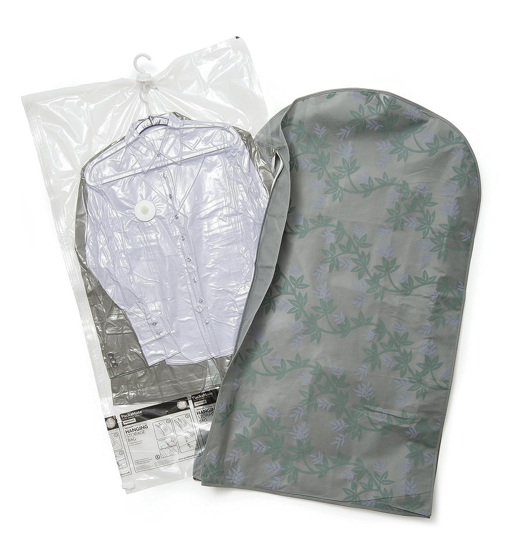 para Trajes Vestidos Camisetas y m/ás Packmate /® Bolsas de vac/ío para almacenaje con Gancho para Colgar Abrigos