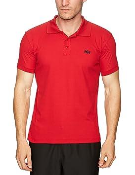 Helly Hansen New Driftline Polo - Polo para hombre, color rojo, talla XS