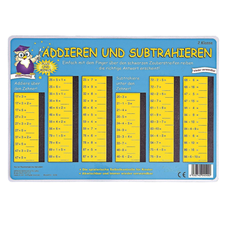 Pressogram Zaubertafel Plus und Minus ZR bis 100 4260107040491