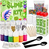 DIY Slime Kit - The Ultimate 31 Piece Slime Making Set - Make 12 Custom batches of Multiple Slime Combinations - Everything You Need in one Kit - 1 Fun and Educational Boys & Girls Activity