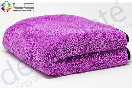 Detailmate Liquid Elements Purple Monster Mikrofaser Finishtuch 40x40cm 1800gsm Pflegeratgeber Auto