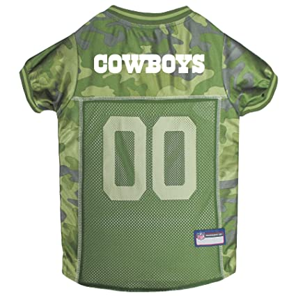 990e4db7e0a NFL CAMO Jersey for Dogs & Cats. Football Dog Jersey Camouflage Available  in 32 NFL Teams & 5 Sizes. Cuttest Hunting Dog Dress! Camouflage Pet Jersey  with ...