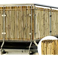 Sol Royal Balkonscherm bamboe tuinscherm 90x250cm SolVision B38 balkondoek zichtbreeknet gemaakt uit premium…