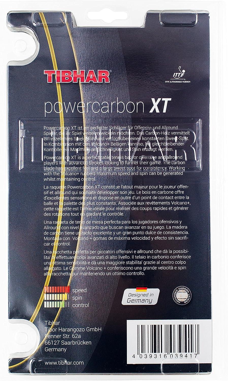 Tibhar Tischtennisschl/äger Powercarbon XT neu