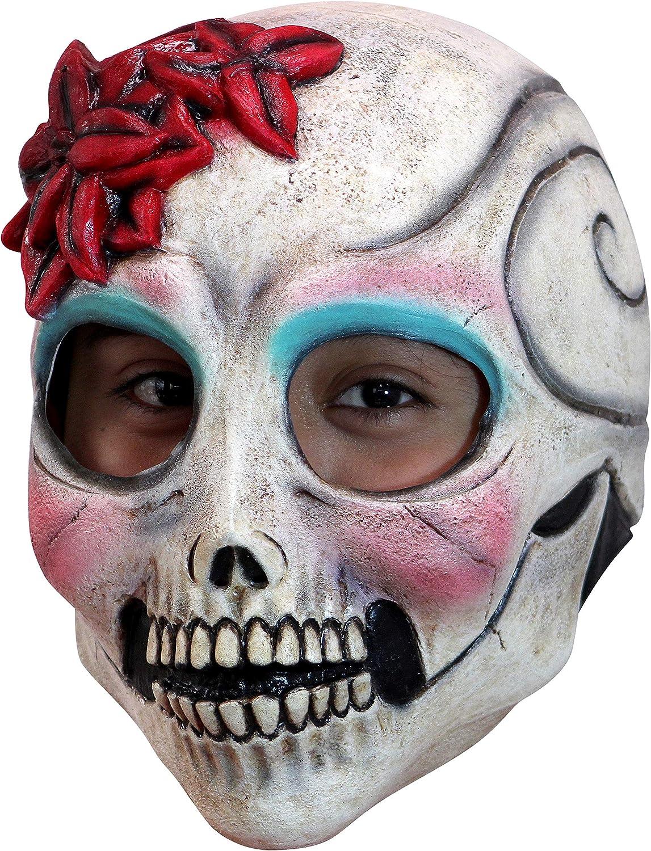 Alien Head Masque Latex Complet robe fantaisie headmask Nouveau Par Smiffys