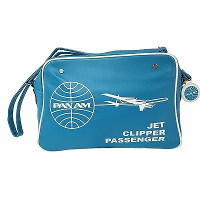 Pan Am Men's Clipper Retro Vintage Duffle Travel Cabinet Bag