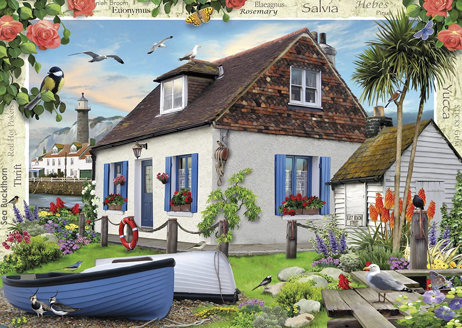 ravensburger country cottage collection no 3 the fisherman u0027s