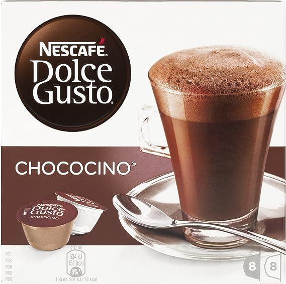 Nescafé Dolce Gusto - Chococino - 3 Paquetes de 16 Cápsulas ...