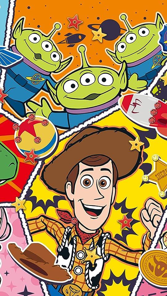 ディズニー トイ・ストーリー/コミック・ファン XFVGA(480×854)壁紙画像