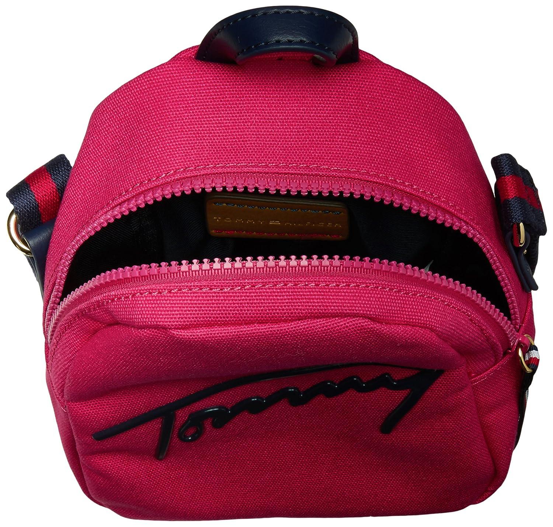 869bbce75b2 Tommy Hilfiger Tommy Script Mini Crossbody Backpack: Amazon.co.uk ...