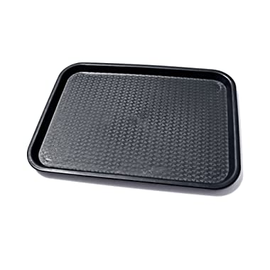 New Star Foodservice 24517 Fast Food Tray, 12 by 16-Inch, Black, Set of 12