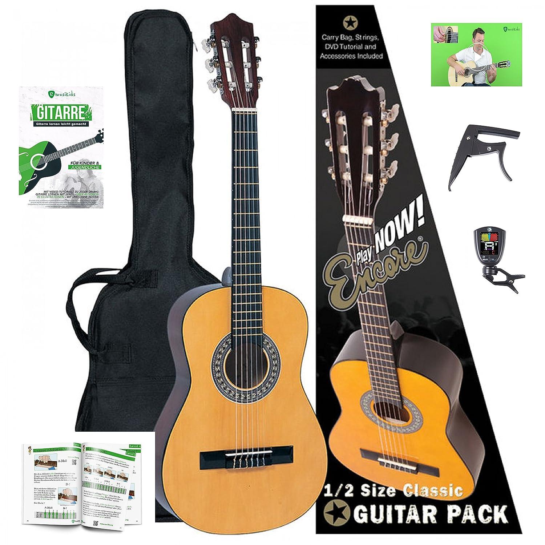Niños Guitarra Starter Set con 1/2 Guitarra, Guitarra Libro ...