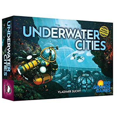 Rio Grande Games Underwater Cities: Toys & Games