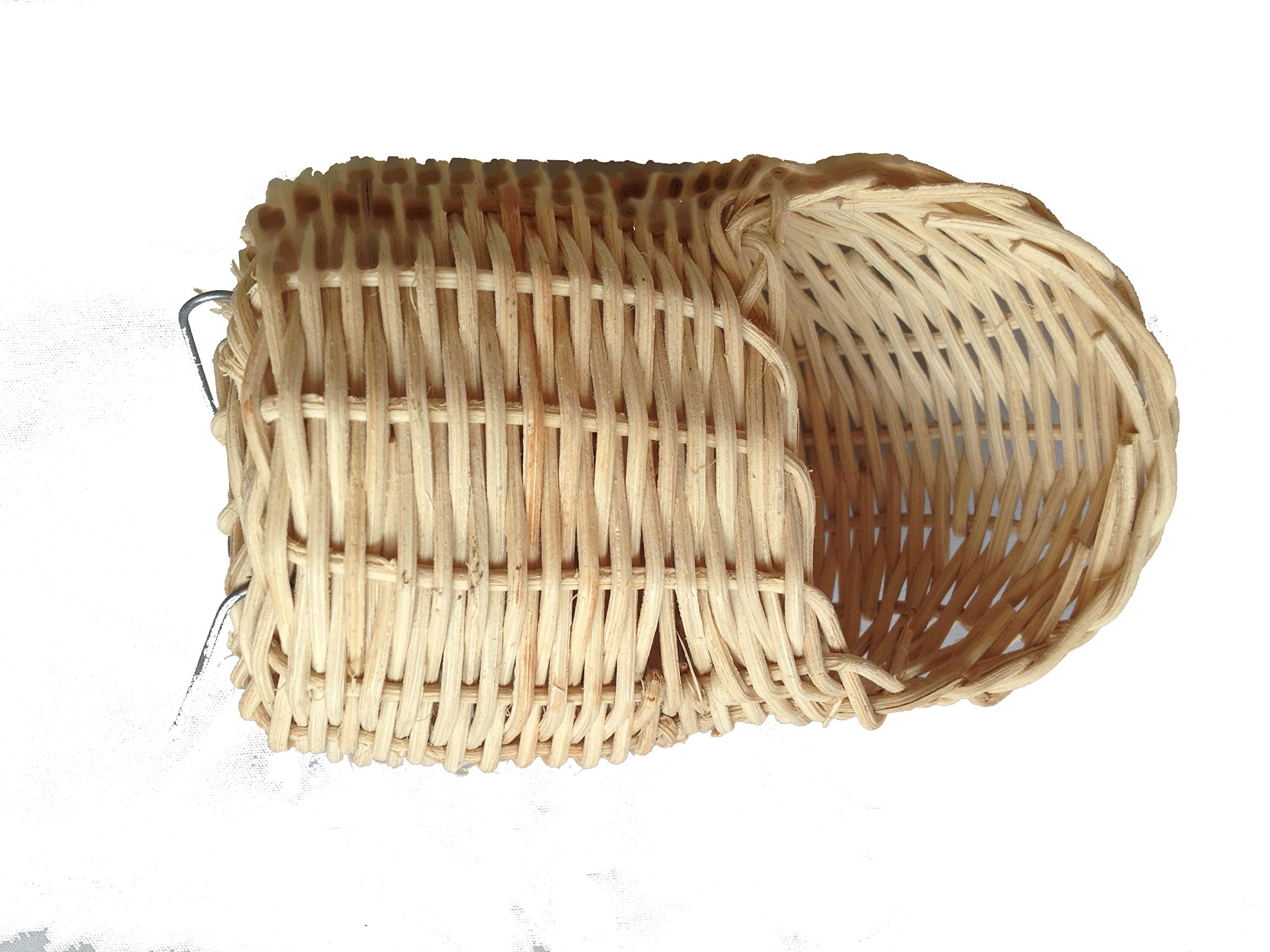 Handmade Rattan Nature's Nest Finch Birds 3x5 Inch by Power of Dream (Image #2)